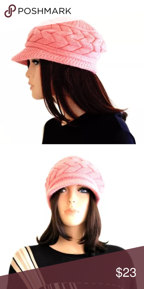 81def64afed Beanie hat women s beanies wool beanies Gorgeous modern style pink beanies!  They are so stylish and on trend. Such a great Winter hat for that snow  bunny ...