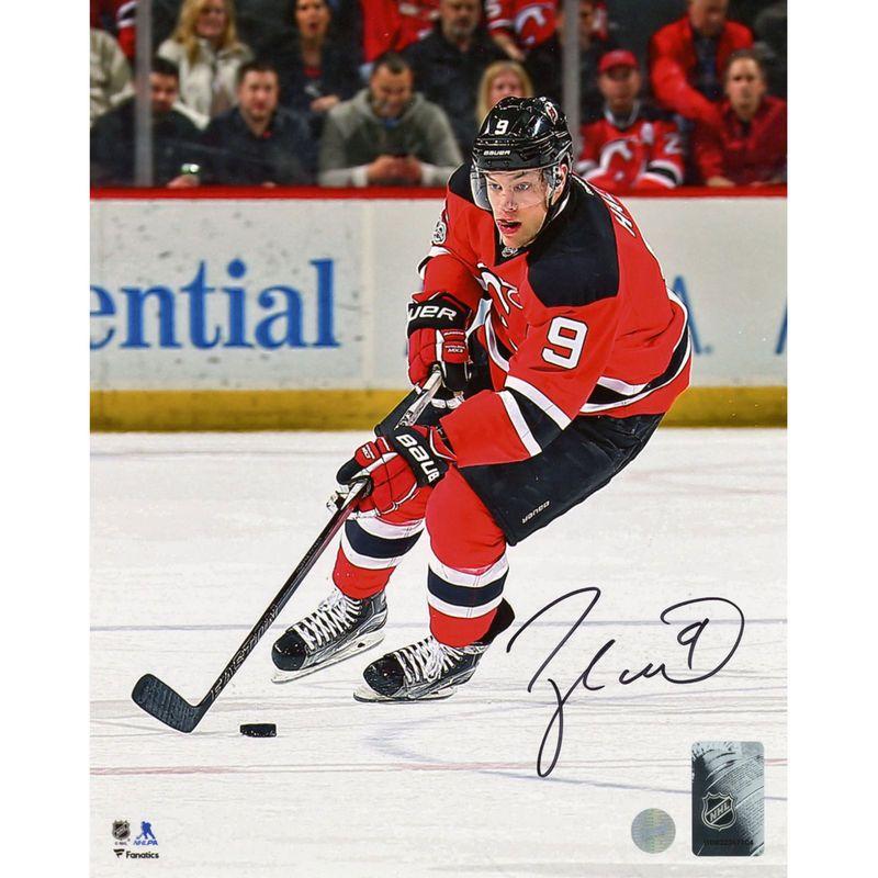 4a52c3887 Taylor Hall New Jersey Devils Fanatics Authentic Autographed 8