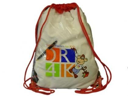 Clear Drawstring Backpack  Size : 33cm (W) x 44cm (H) Material : Clear PVC with Nylon Collar