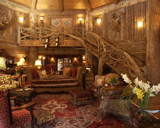 Adirondack Style Boathouse House And Home Magazine Cabin Interior Design Rustic House
