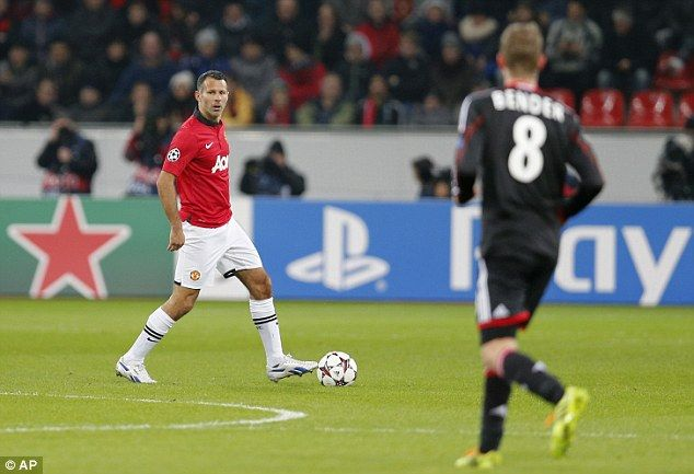 Giggs started for David Moyes and added a late assist for Nani - the legend turns 40 on Friday
