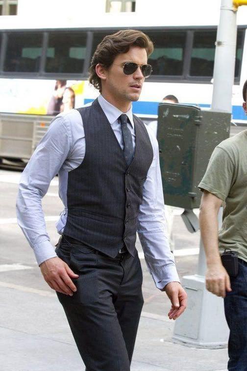 Neal caffrey vest clothes i like neal caffrey matt - Neal caffrey hair ...