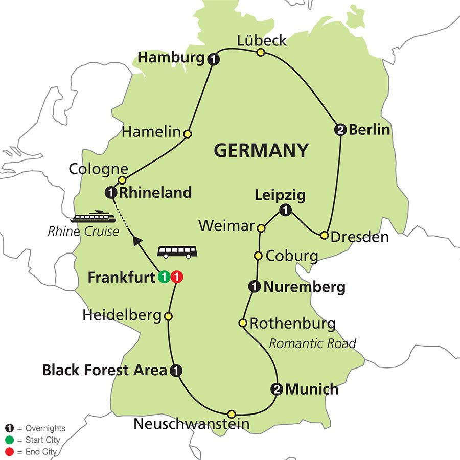 Tours Of Germany With Berlin Munich More Cosmos Autos Post
