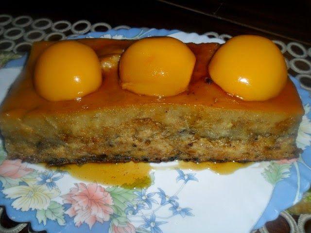 Recetas de cocina: Budin de Melocoton