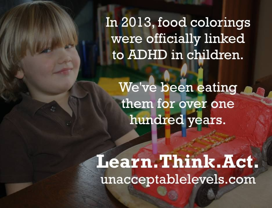 An unacceptable fact about food coloring... www.unacceptablelevels ...