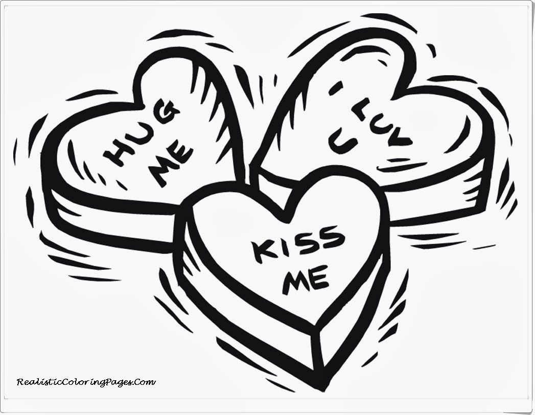 Free Printable Happy Valentines Day Coloring Pages | Valentines ...