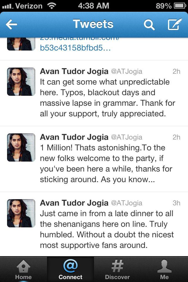 Congrats Avan!