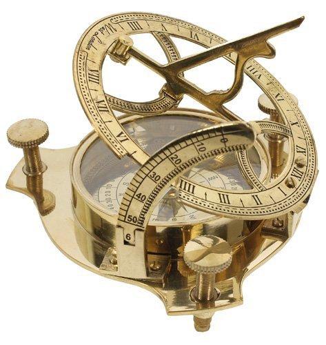 Compass Sundial Vintage Compass Compass