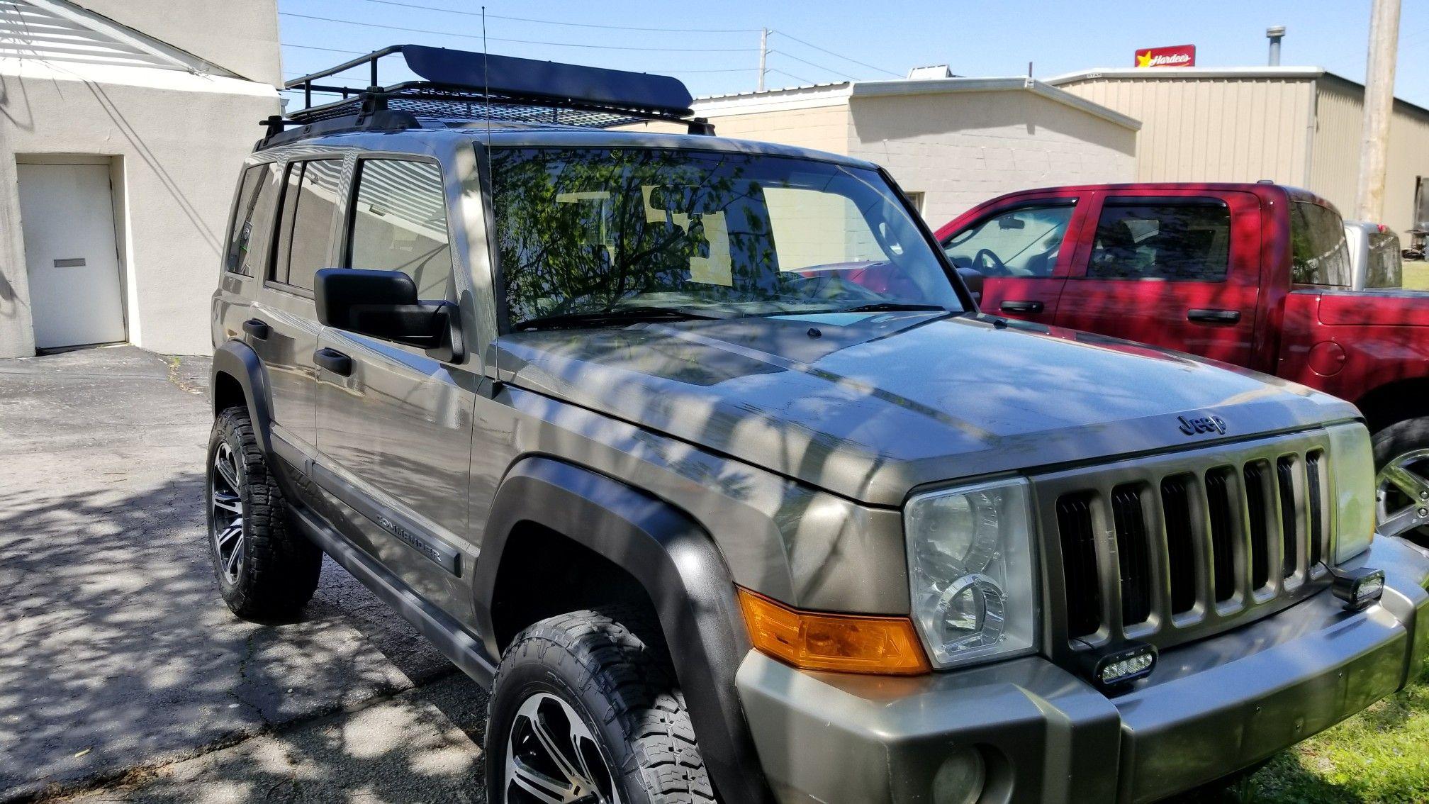 apex xl roof rack on 06 jeep commander