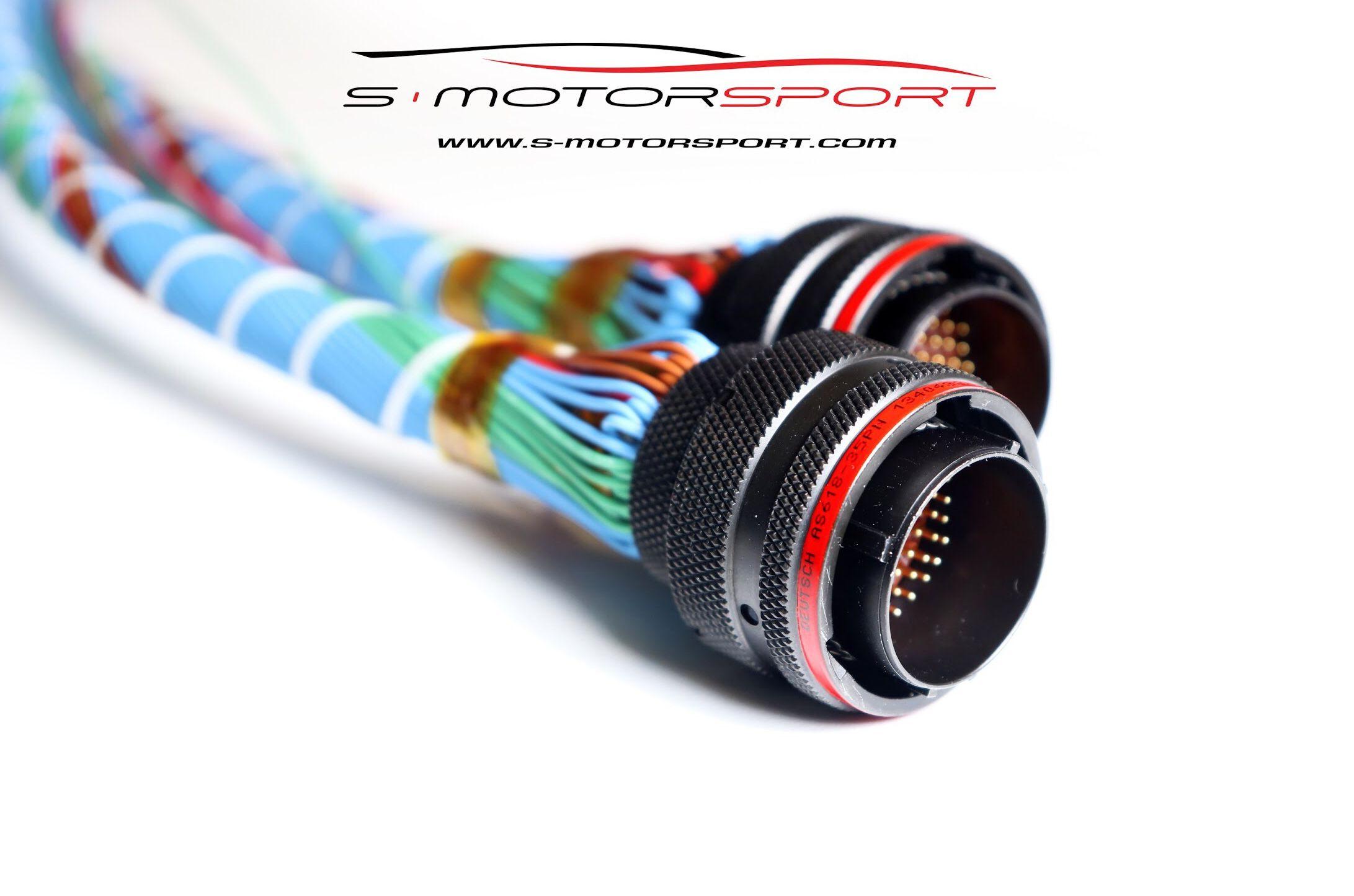 Budushaya Motornaya Provodka Dvigatelya 4g63 Na Deutsch As Series As618 35pn Oborudovanie Link Fury Motec Pdm30 Motec C127 Mo Ford Sierra Mazda Mx5 Motorsport