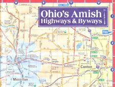 Ohio Amish Byways Map Travel Country Maps Ohio Map Amish