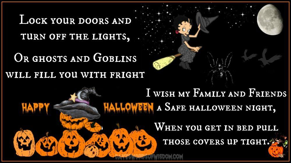 Daveswordsofwisdom.com: The Halloween Poem