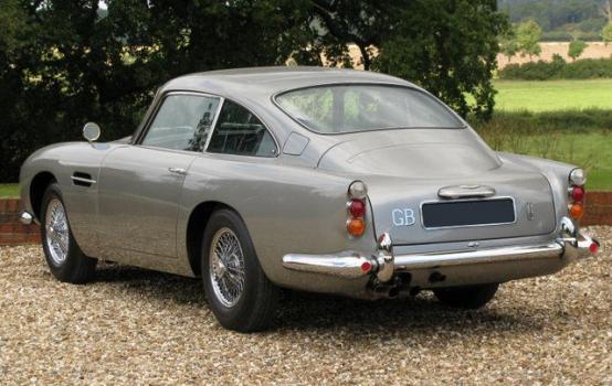 Photo of 1964 Aston Martin DB5 #bondcars #bond #cars #vehicles