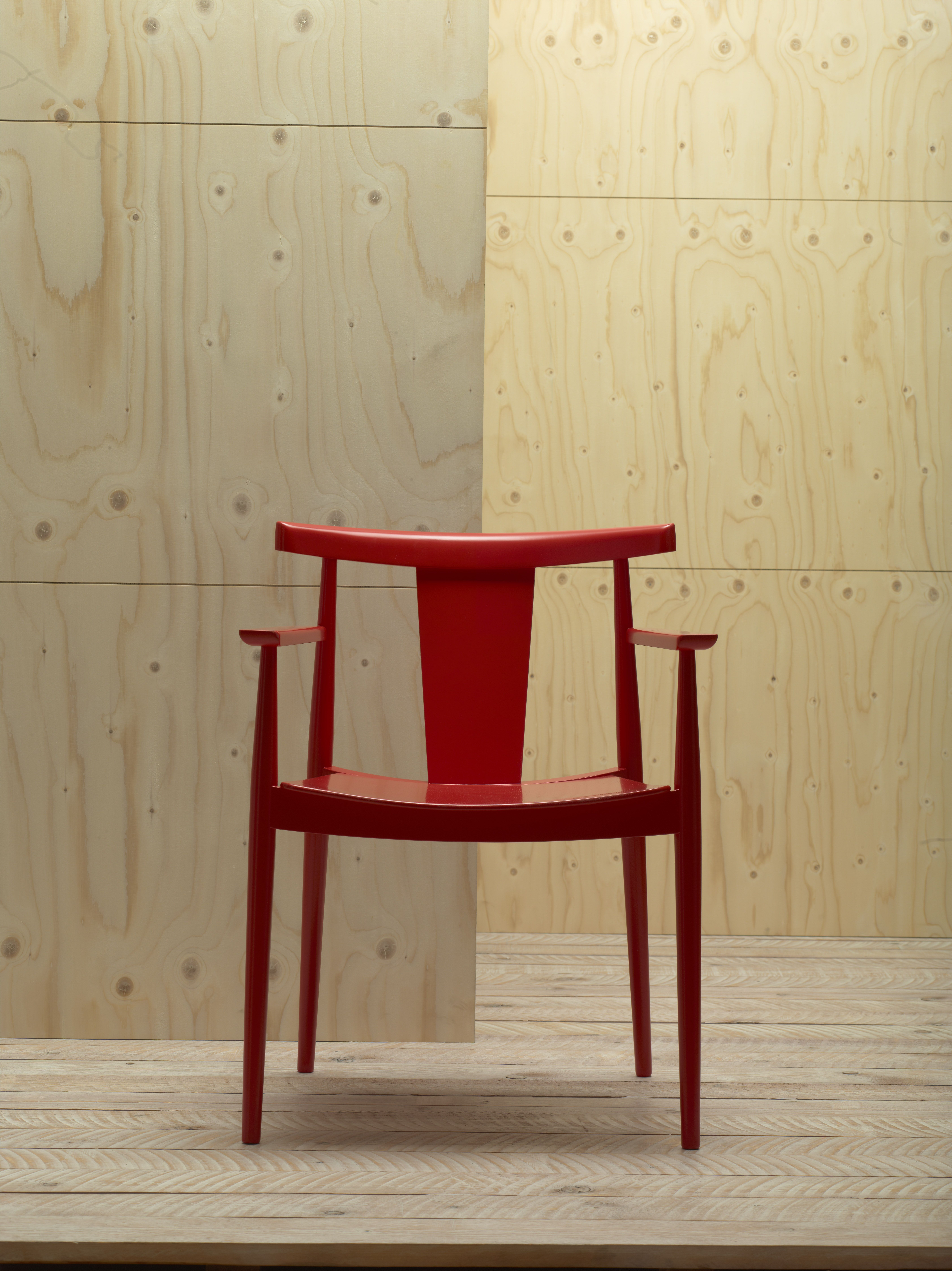 chair japanese design massage portable birch veneer w grain matching across seams i just like