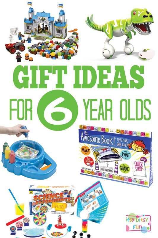 Gifts for 6 Year Olds - Itsy Bitsy Fun - #Bitsy #fun # ...