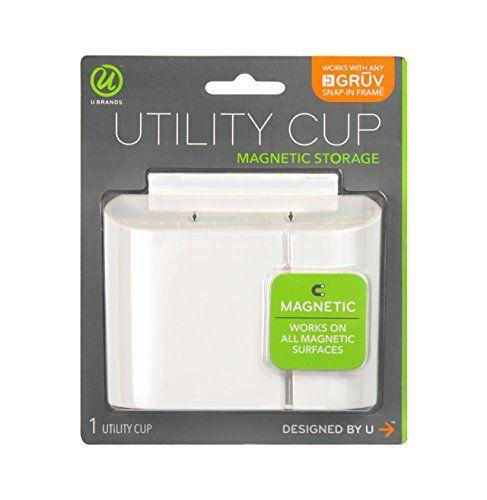 U brands gruv magnetic utility cup white 325 x 425 494u04 12 u brands gruv magnetic utility cup white 325 x 425 494u04 solutioingenieria Images