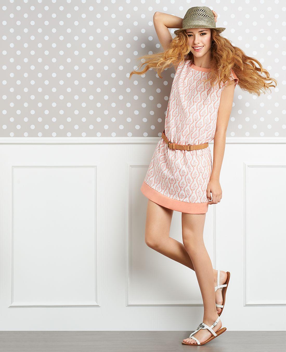 Pink dress from stranger things  Look Book Julio  NAF NAF  ropita  Pinterest