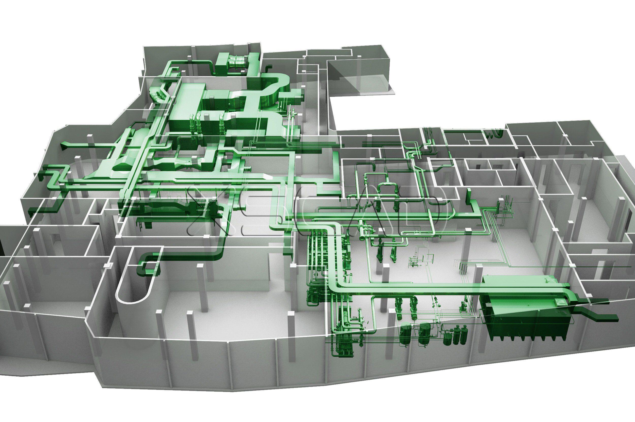 3d Mep Modeling Civil Engineering Design Engineering