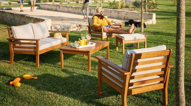 Salon de jardin design  meubles d\u0027extérieur et astuces d\u0027entretien