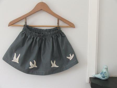 cute skirt, cute blog....Tiny Happy