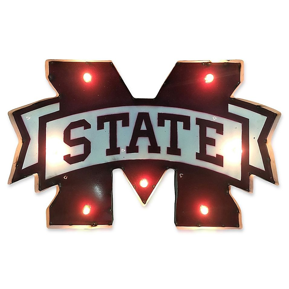 Best Mississippi State University 30 Illuminated Recycled 400 x 300