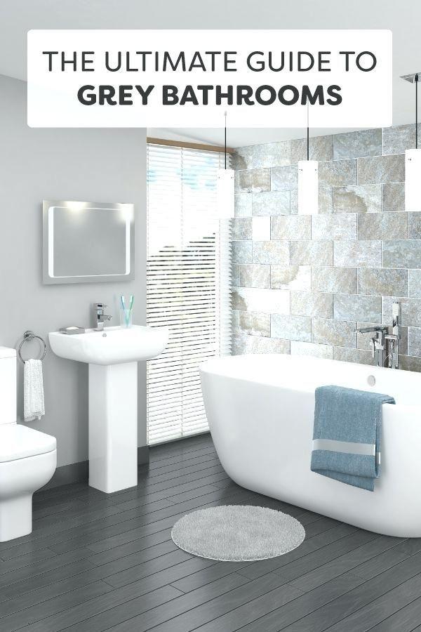 Gray bathroom colors #graube # wallpaper #wall paint ...