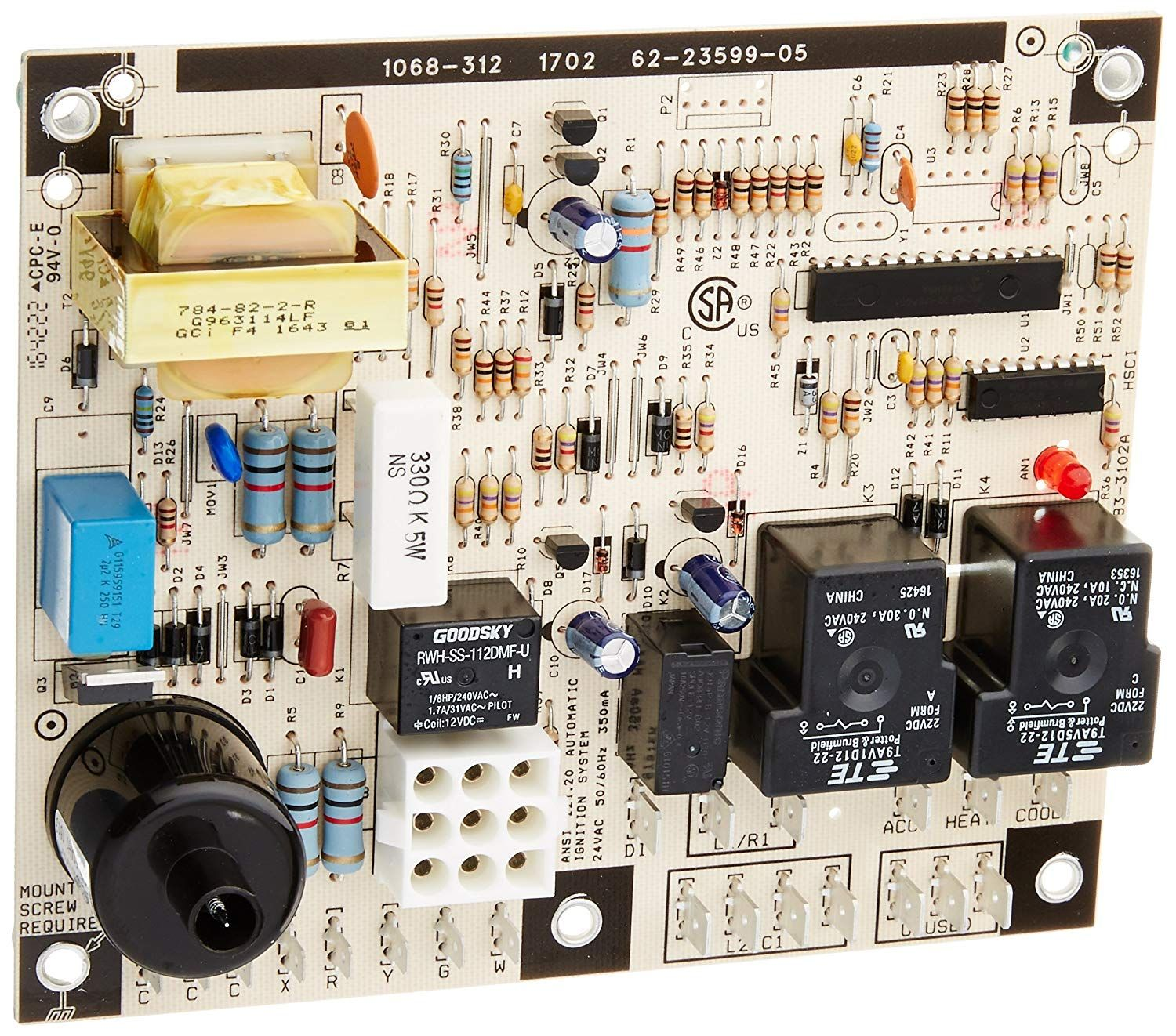Protech 622359905 Integrated Furnace Control Board