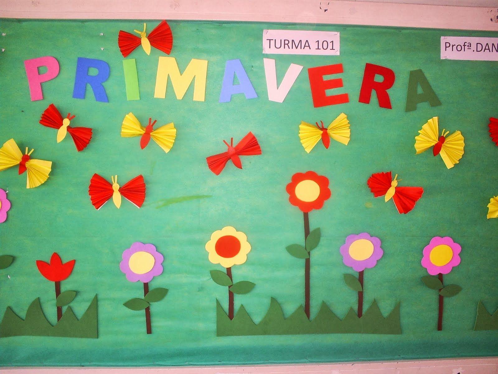 decoracion dia de la primavera en el aula - Buscar con Google ...