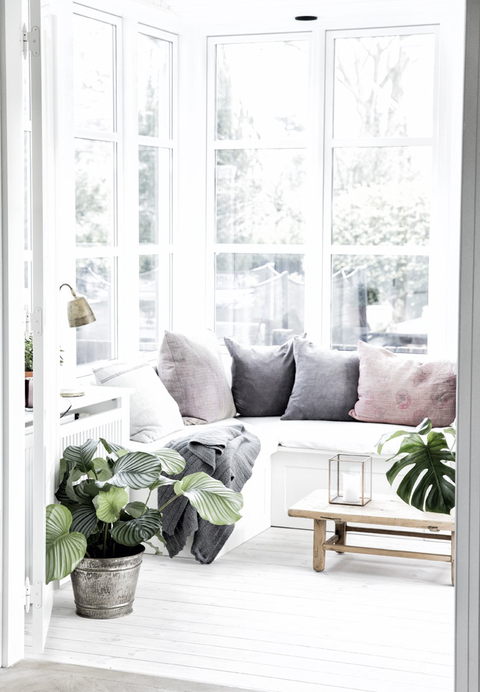Gorgeous neutral interior light filled space