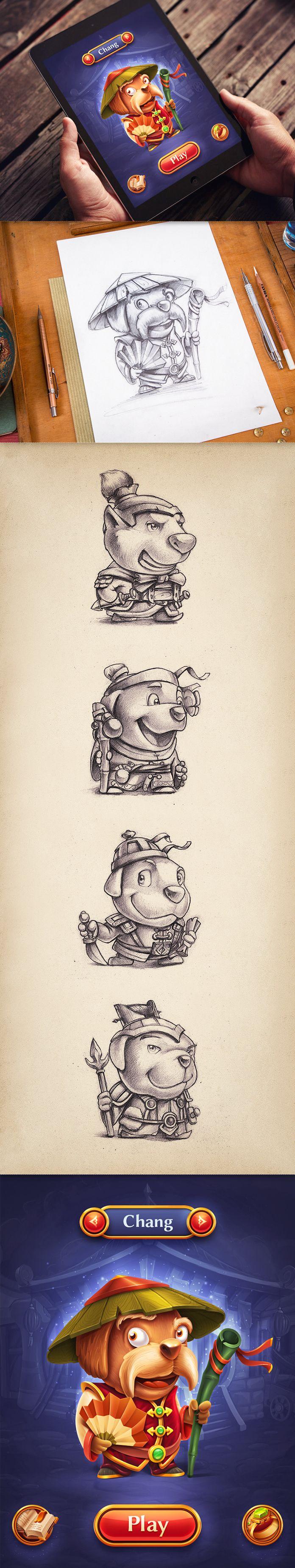 Concepto game art
