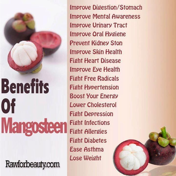 Benefits of mangosteen | Food Health | Pure products ...