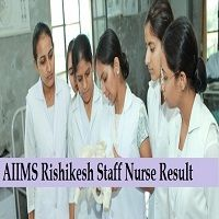 Aiims Rishikesh Staff Nurse Result 2020 Aiims Staff Nurse Cutoff Merit Nurse Government Jobs Rishikesh