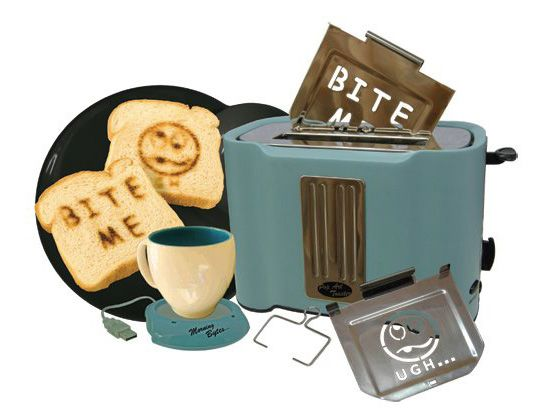 Morning Bites Toaster via  http://thedesigninspiration.com/articles/20-best-creative-products-you-can-actually-buy-part-ii/