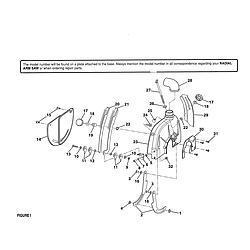 Upper Lower Guard Radial Arm Saw Craftsman Repair