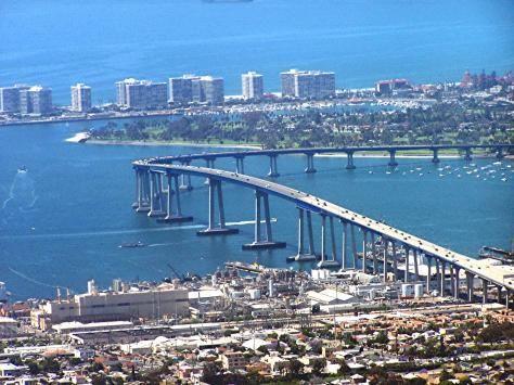 Been San Diego California Coronado Bridge Coronado Island Hotel Del Coronado