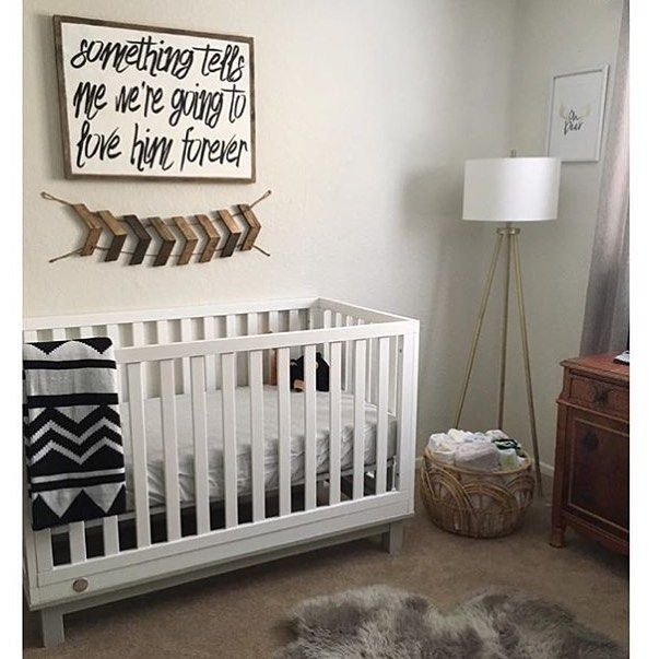 Our Little Baby Boy S Neutral Room: Pretty Much Obsessed With This Little Guy's Nursery