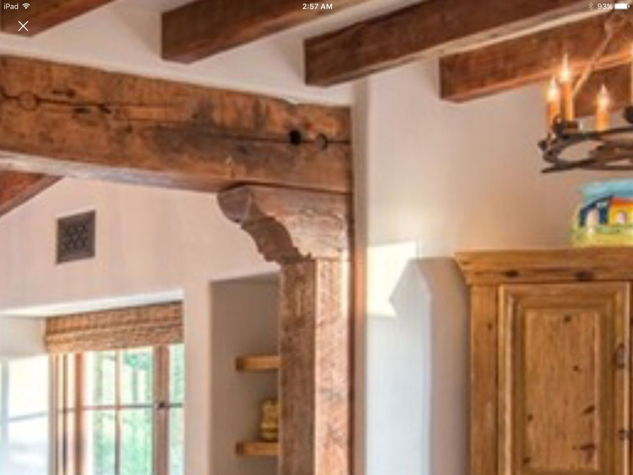 Adding Wood Beams To Ceiling In 2020 Wood Beam Ceiling Wood