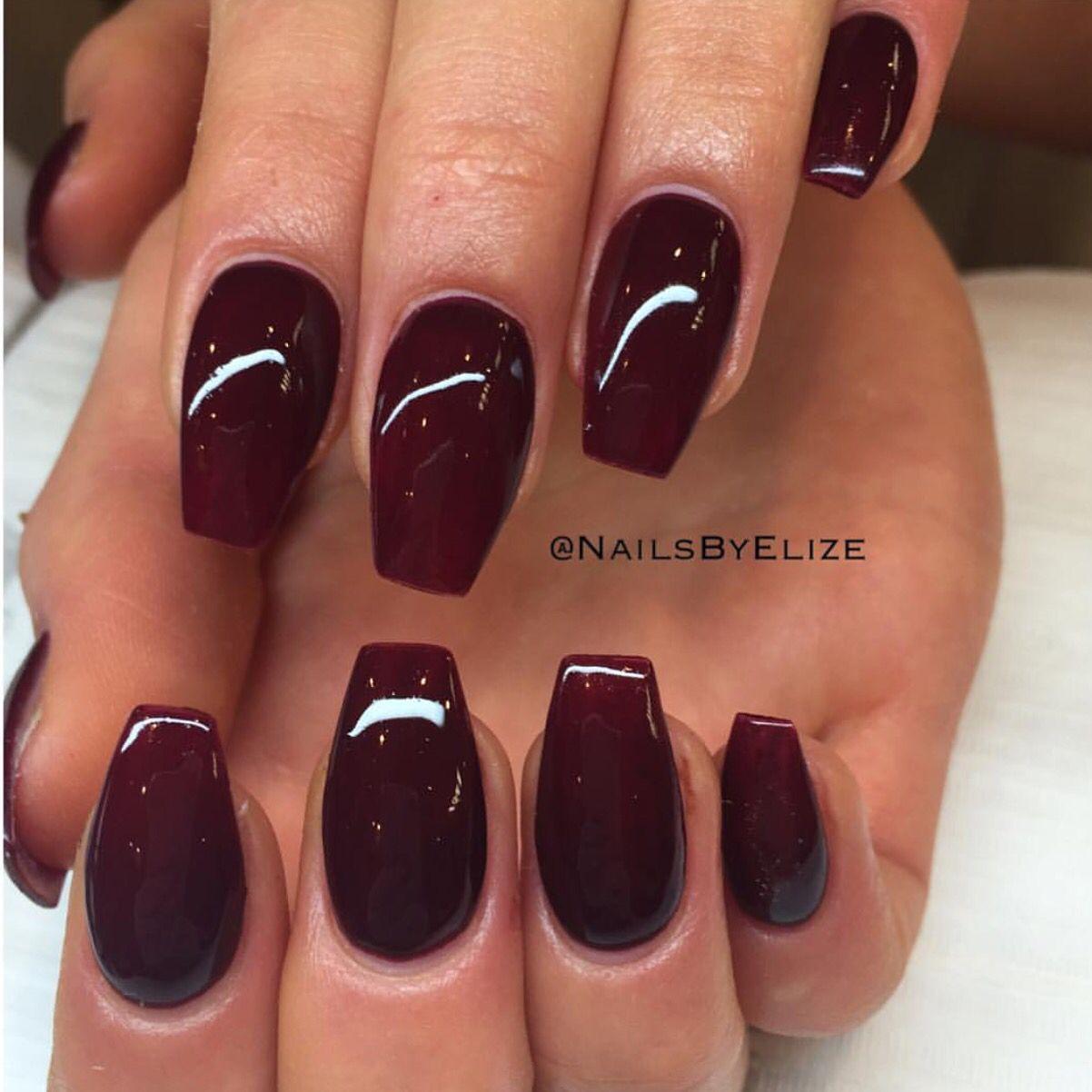 Vampire Nail Polish: Vampire Red @nailbyelize