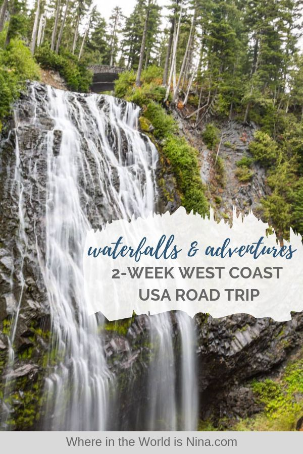 West Coast Road Trip Seattle to San Francisco: Adventures and Waterfalls