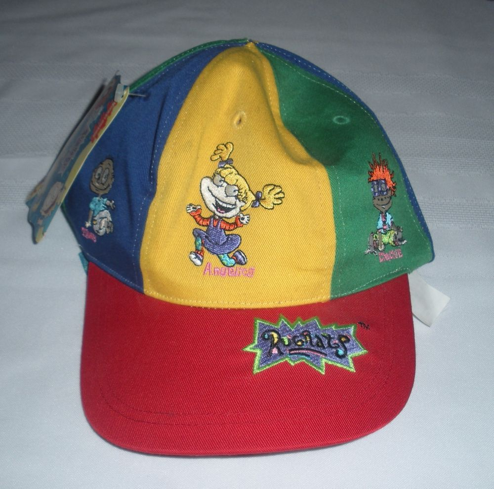 new product 15ca6 2751b ... spain vintage 1997 nickelodeon hat vintage rugrats youth snapback hat  cap nickelodeon 90s mwt ebay 17ba5