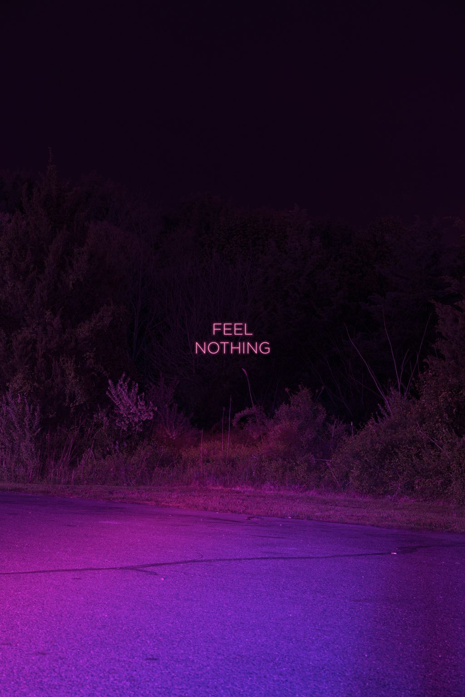 Feel Fine Aesthetic Backgrounds Purple Aesthetic