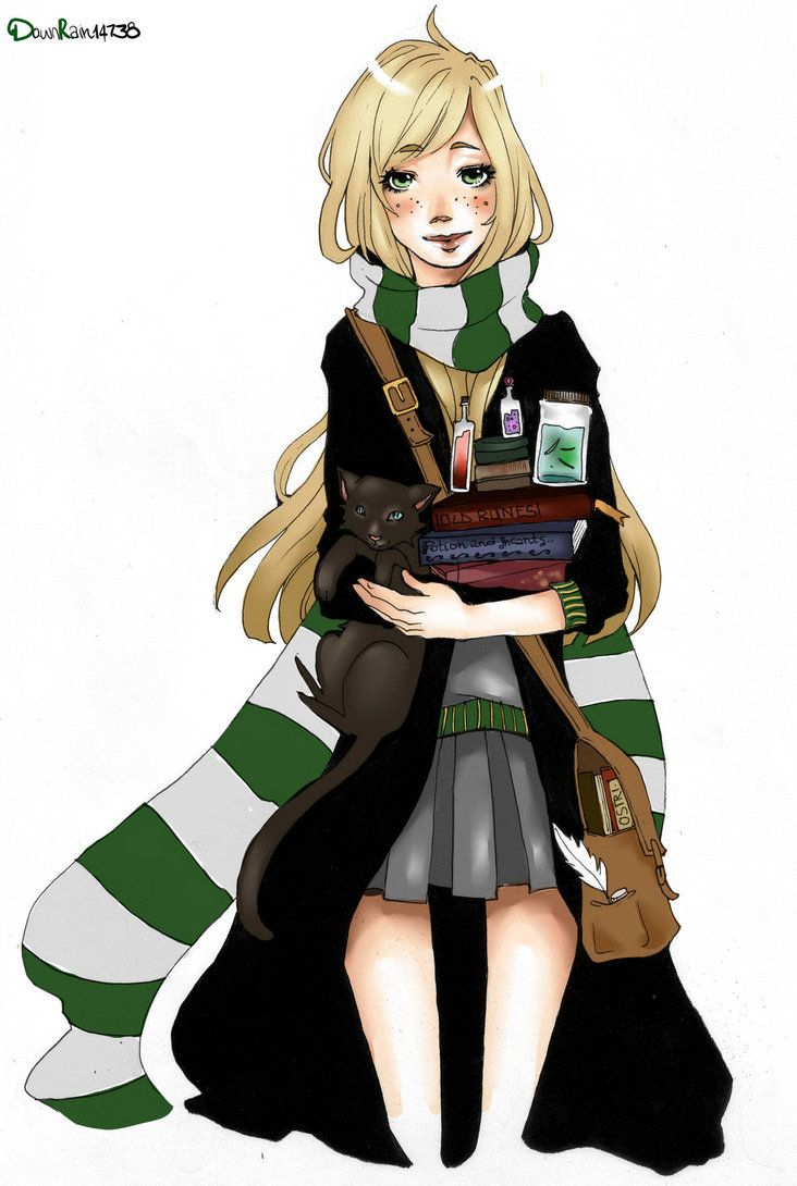 Anime Characters Hogwarts Houses : Pin by slytherin princess on girls pinterest