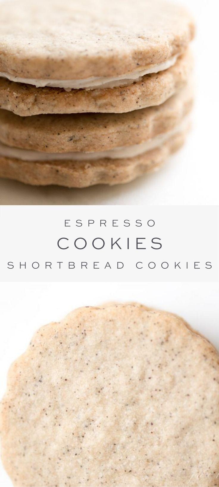 Espresso Cookies | Latte Cookies Recipe