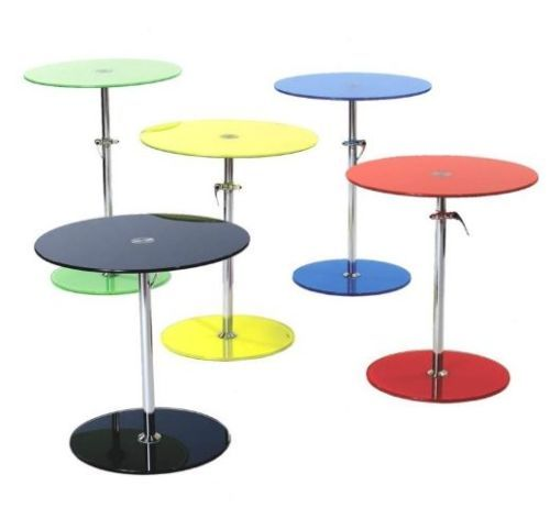Lowest Price Online On All Eurostyle Rafaella Adjustable Glass End Table