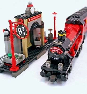 HARRY POTTER LEGO HOGWARTS EXPRESS 4708 100% COMPLETE GUARANTEE ALL FIGURES