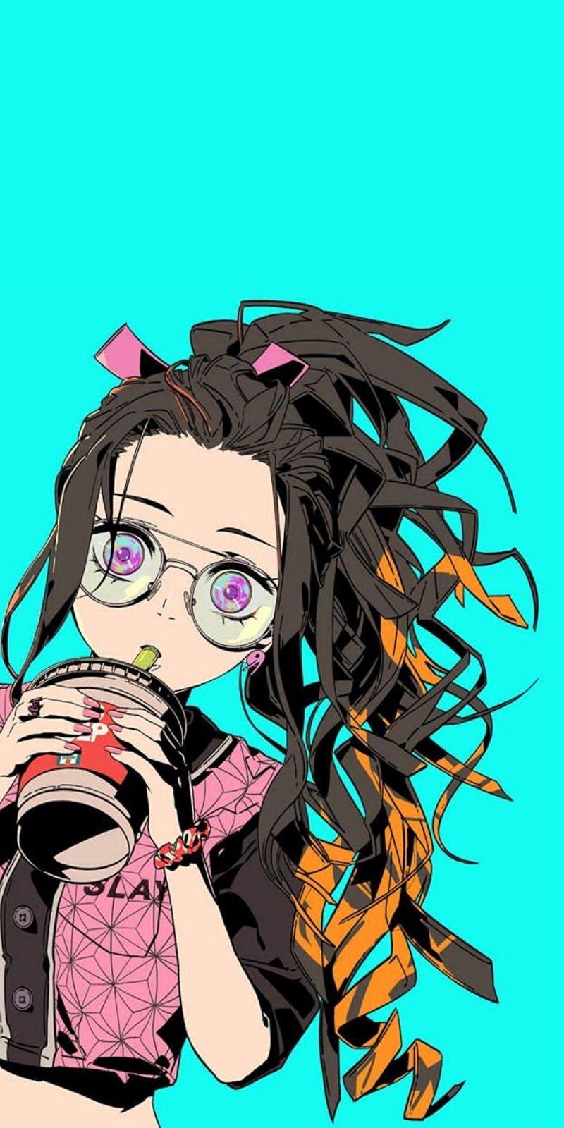 Nezuko Kamado Kimetsu No Yaiba Kimetsunoyaiba Demonslayer Anime Kawai Cute Wallpaper Zenitsu Anime Demon Slayer Anime Anime