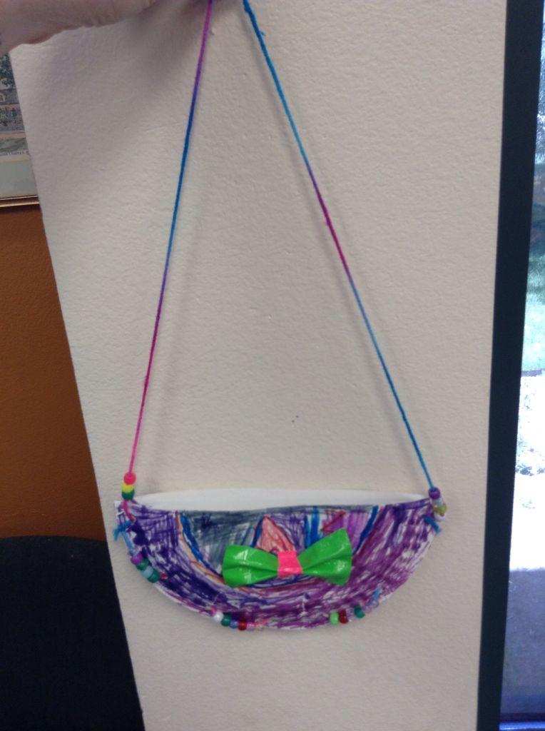 DIY paper plate purse! -Wild Fire & DIY paper plate purse! -Wild Fire | cool ideas | Pinterest | Wild ...