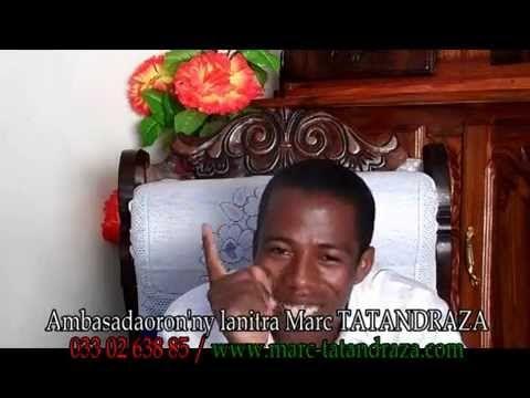 Marc Tatandraza : Maty omaly, sinema indray hoy ny olona