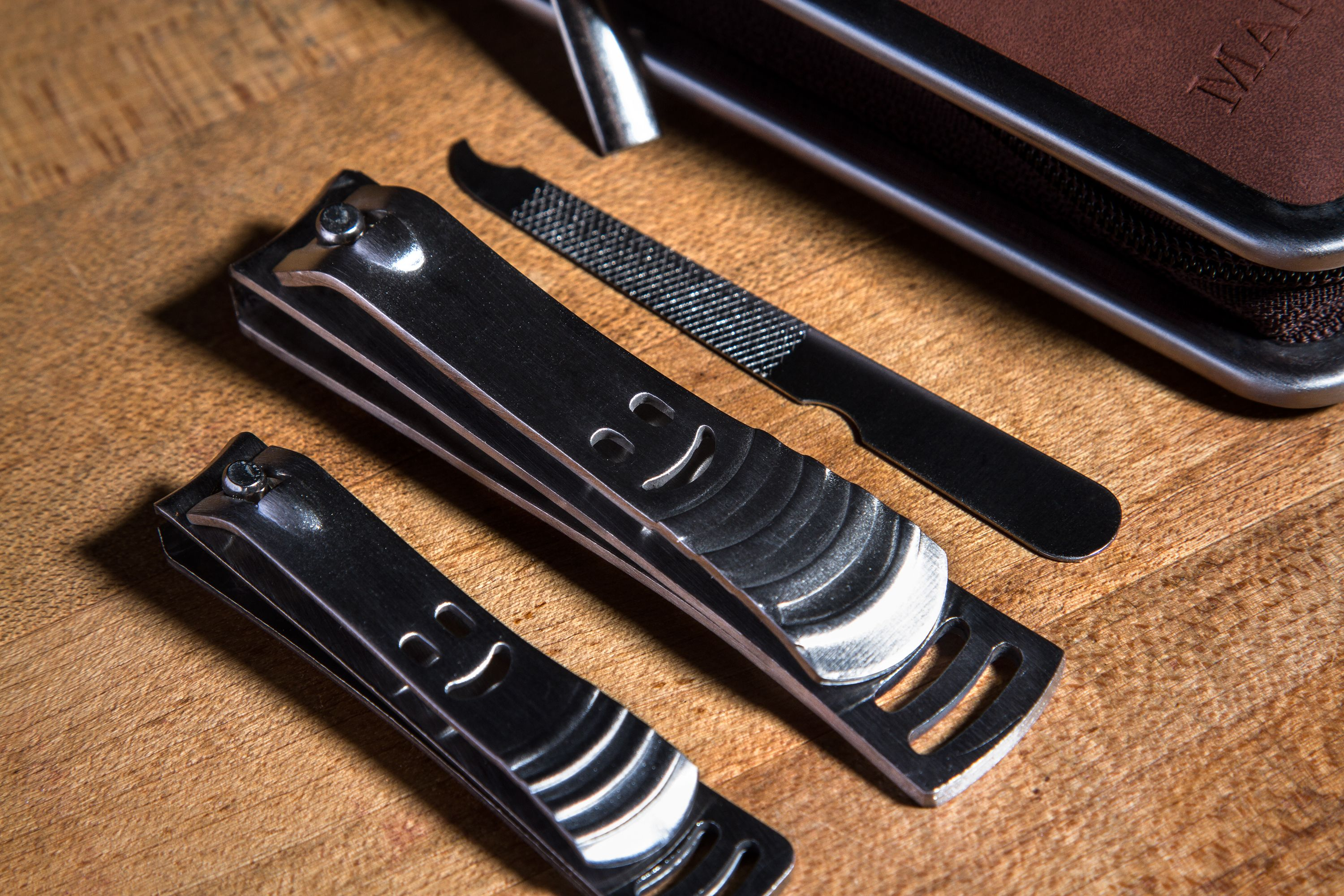 Stainless Steel Nail Clipper Set FOR GUYS - No more digging through ...