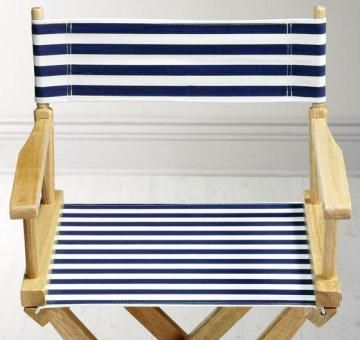 Striped Directors Chairs Outdoor Rocking Walmart Canvas Seat And Back For Chair From Home Decorators 15 00